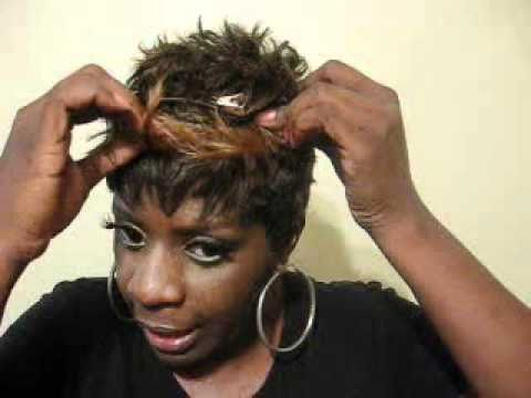 How to Restyle Short Wigs