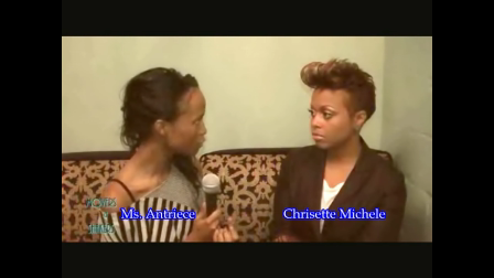 Ms. Antriece and Chrisette Michele