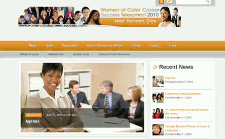 How to Earn Your Ticket Free to Women of Color Career telesummit