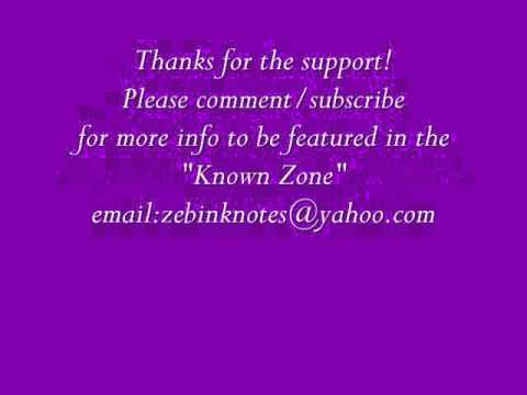 The Known Zone- www.zebinknotes.com