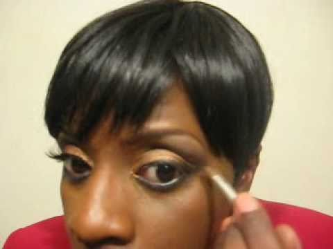"""Janet Jackson """"For Colored Girls"""" Hair-Makeup Tutorial"""