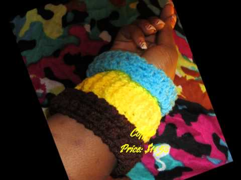 Unique & Beautiful Crochet Bangles