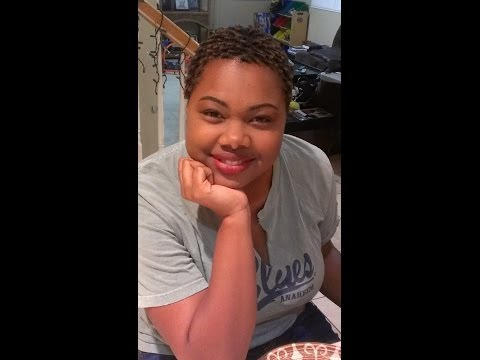 Natural Hair Journey and the Big Chop | Sikudhani Alexander | by Rene' Michelle Floyd