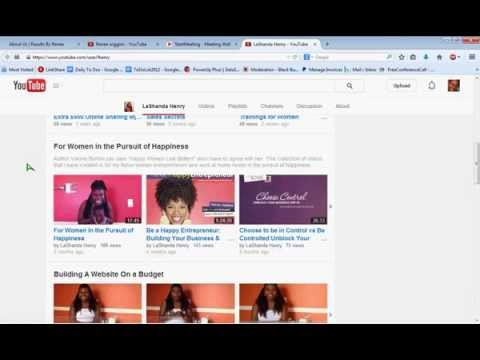 How to Customize Your Youtube Channel Page