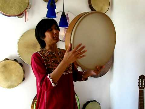 Frame Drum & Melodic Voice/ Demo #2 Play along :: by Miranda Rondeau