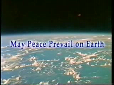 May Peace Prevail On Earth - CNN International