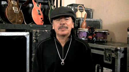 Carlos Santana's Message to AOAND Members