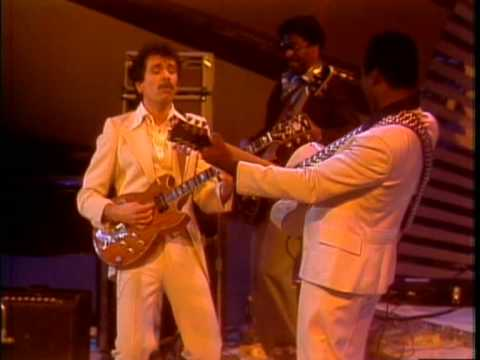 George Benson & Carlos Santana Midnight Special 1976 BREEZIN