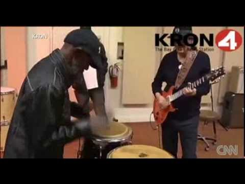 Carlos Santana & Marcus Malone Jamming Again Santana keeps his word to homeless Malone