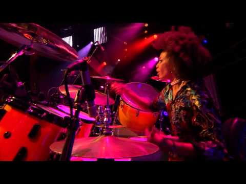 Mr Carlos Santana & his Wife (great drummer) Live 2011