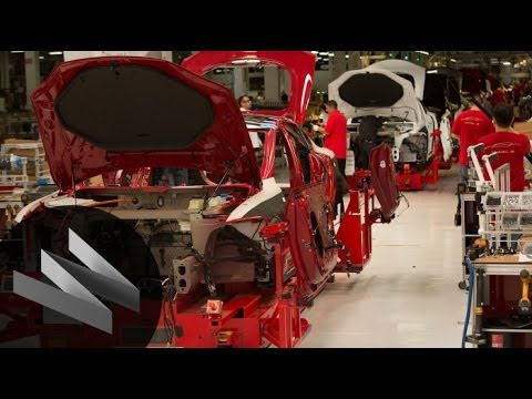 Tesla Motors Part 1: Behind the Scenes of how the Tesla Model S is Made-The Window-WIRED