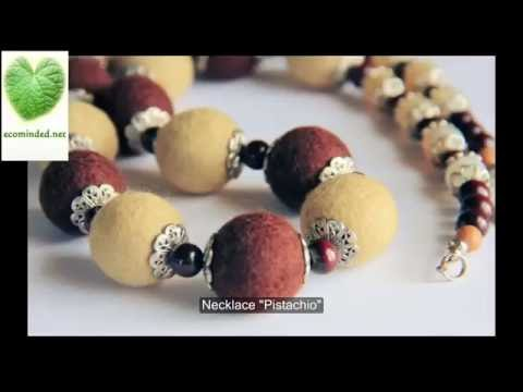 Handmade crafts from Russia: costume jewellery
