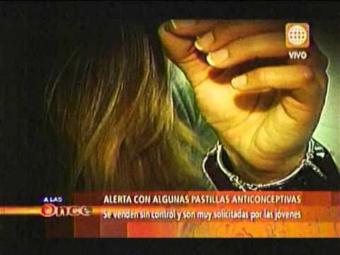 A las Once- Alerta con algunas pastillas anticonceptivas- 07/08/13