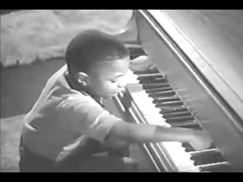 Young Little Richard Playing Piano = Amazing