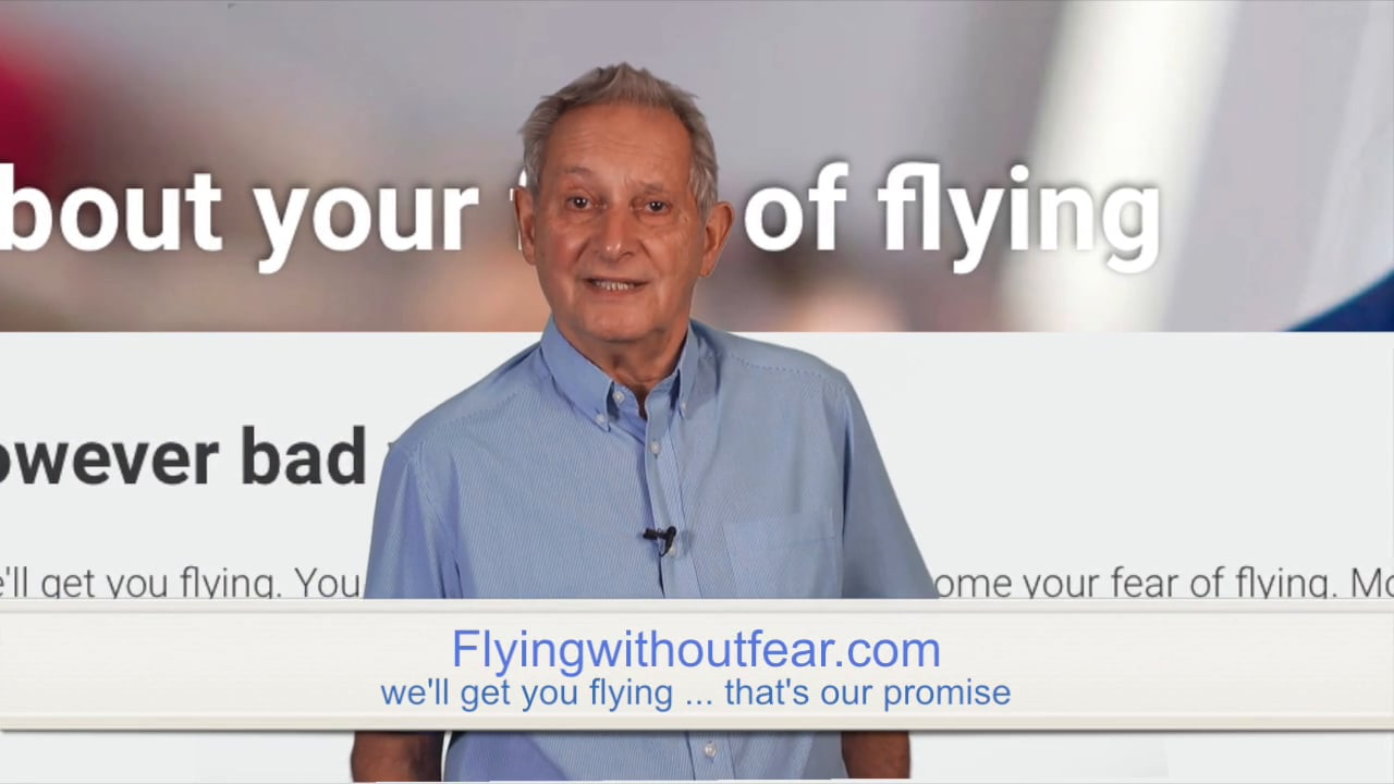 OUR WEBSITE Flying without Fear .com The biggest, most informative free source of help for fearful flyers