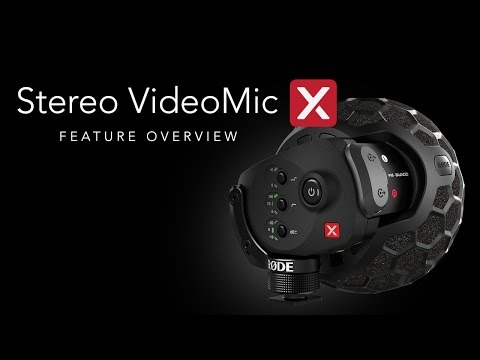 RØDE Stereo VideoMic X Overview