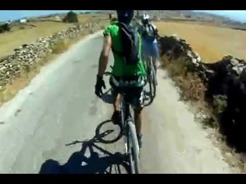 Awake Paros Mountain Bike Team Fun ride!