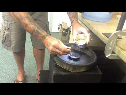 Jeremy Pfeiffer Cymatics set up at PSI