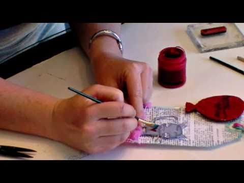APR 4 2011 UnityTV Episode #5, Suzi Blu Stamp Pooey Love Homemade Tag, Unity Stamp Co.