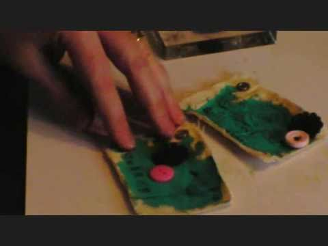APR 25 2011 UnityTV Episode #8, Stamped and Painted Canvas Tags, Unity Stamp Co.