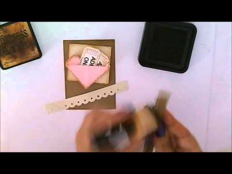How to make a vintage love tag using Sending My Love Stamp Set