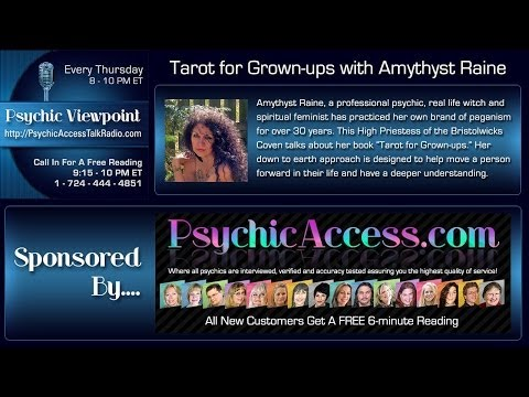 Radio Interview: Tarot for Grown-ups with Amythyst Raine