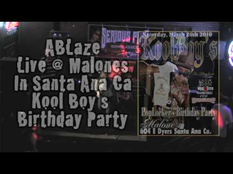 ABlaze Rippin It @ KOOL Boy's Birthday Party