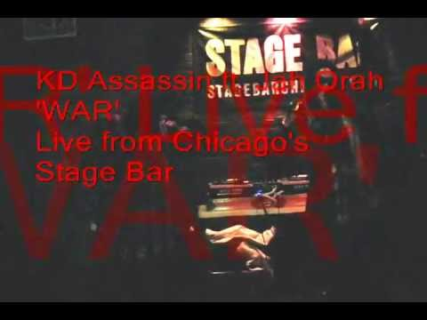WAR - KD Assassin ft. Jah Orah(live)