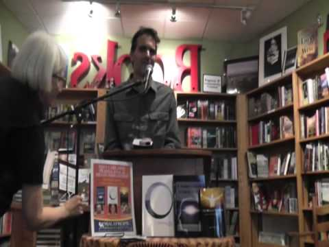 Trey Carland, Prajna Ana, and Brian Piergrossi - book reading at Malaprop's Bookstore, Asheville NC