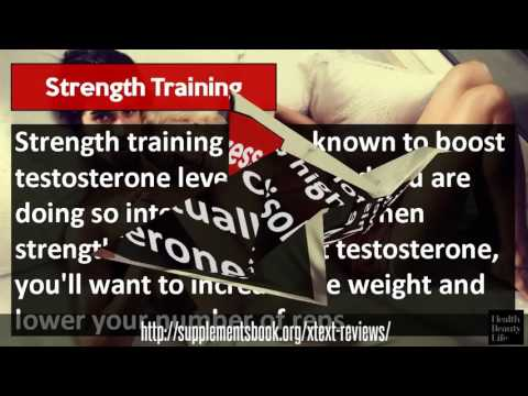 Xtest Pro -  Testosterone Boosting Pills for Men!
