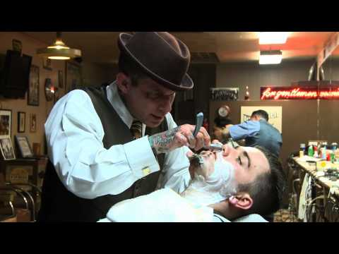 The Straight Razor Shave Lecture with Donnie Hawley