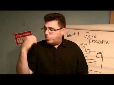 Build your small business, send postcards, Ivan Zoot, Big Small Business, week 11