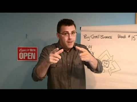 Play green Big Small Business business builder tip for week 15 Ivan Zoot