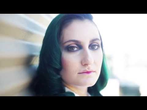 Cat Thompson green hair project