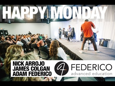 ARROJO Happy Mondays at FEDERICO advanced