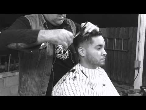 Frankie e Reiland x The Barber Collective