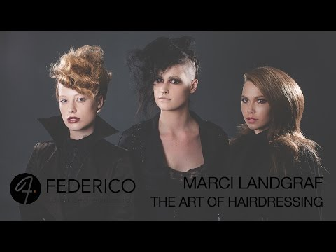 Marci Landgraf @ FEDERICO advanced sharing The Art of Hairdressing