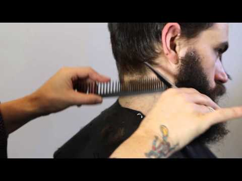 How to cut and style Johny Cash look  with Barberian Men's Grooming