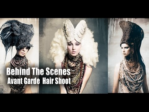 Behind the scenes - Avant Garde Hair Shoot - Contessa Awards