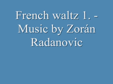 French waltz 1.