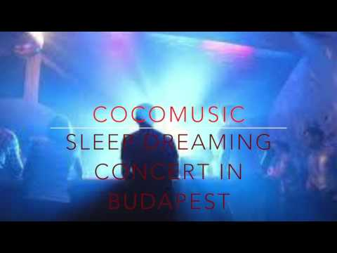 sleep dreaming concert in budapest