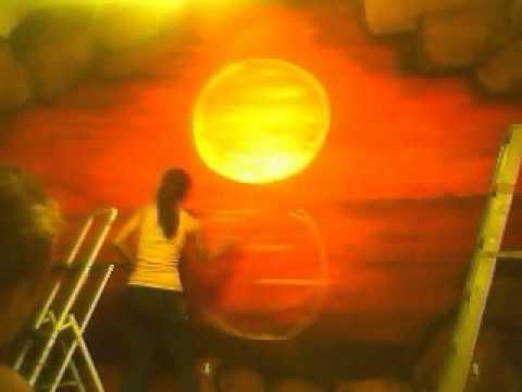 Beach Mural Speed Painting.wmv