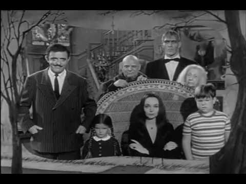 The Addams Family Intro Theme Song 1964 - 1966