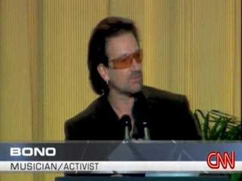 Bono's sermon....