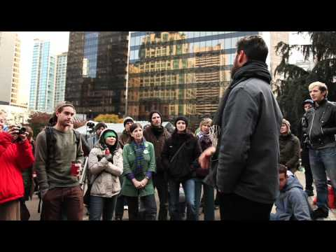 Love & Shadow in the Occupy Movement - Michael Stone
