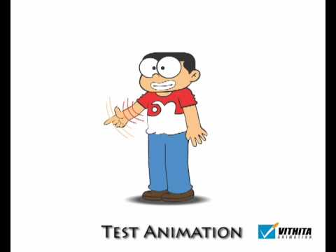 Test character Animation 2D