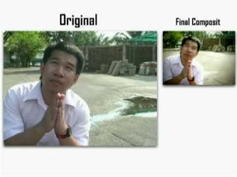 Visual Effect Final Project Class in Multimedia KMUTT