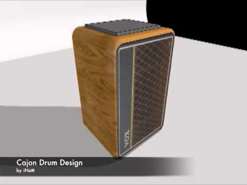 Cajon Design 3D by iNattt