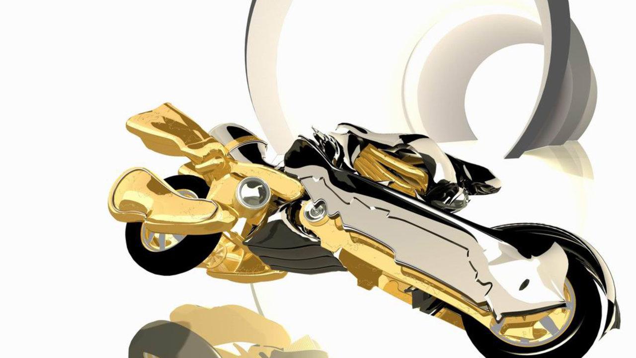Motorbike animation