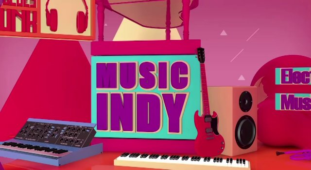 Music Indy : Video wall Central